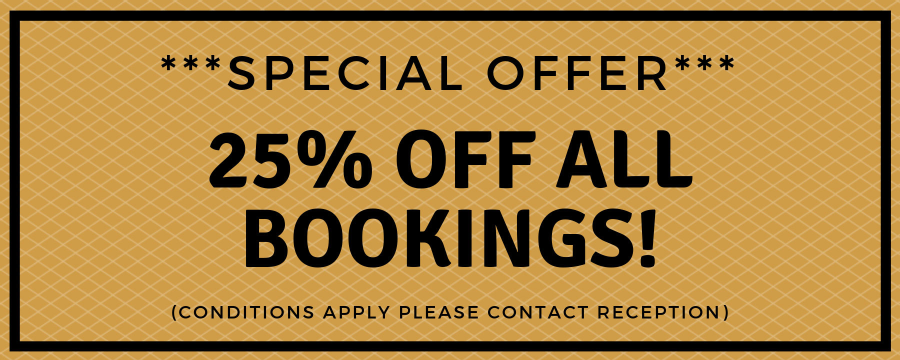 Liaisons 25% special discount offer!